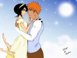 Ichiruki Romantic Evening. by Spintherella