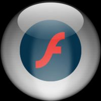Silver Aqua Flash MX Icon 2 by rontz
