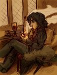 Relaxing Elias by StressedJenny