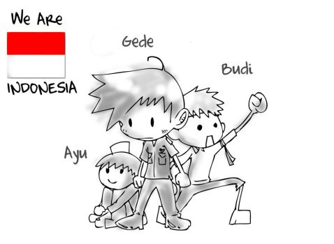 We Are Indonesia by kawai666