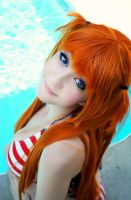 Asuka Bathing Suit Cosplay - 01 by tipsy-g