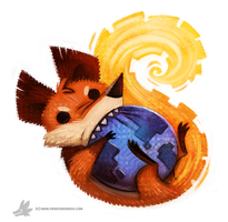 Day 795. Firefox Icon by Cryptid-Creations