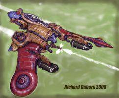 Octopi Fighter:Complete Colour by Richard-Daborn