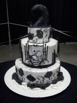 nbc competition cake by whitestar08