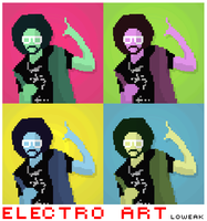 POP Electro Art Feat LMFAO by Loweak