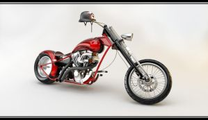 Custom Chopper 5 by PasMater
