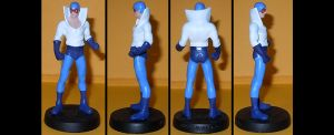 Max Mercury custom figurine by Ciro1984