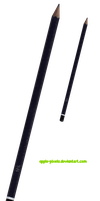Pencil_PNG by apple-stocks