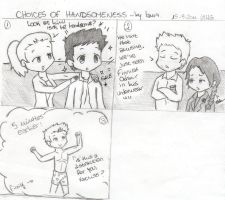 Choices Of Handsomeness by lauu7