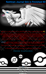 Pokemon Black Reshiram Journal by Kyuubi0017
