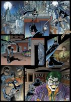 Batman Page by DarkKnight81