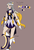 LoL - Star Guardian Diana skin design by Kiki-Hyuga