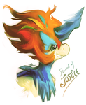 Keldeo by Endber