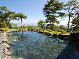 Open-air bath in Japan 9 by nicojay