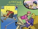 APH : 2p!FRUK/FACE family by iconovore