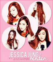 JESSICA JUNG FOR NYLON MAGAZINE RENDER PACK by GiosylZhang