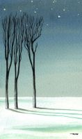 Winter card IV by 13Mirror