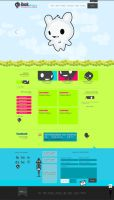 Personal Website - Design V1.1 by Monstruonauta