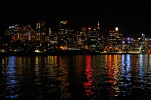 Sydney harbour nights 1 by wildplaces
