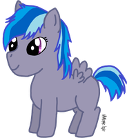 Sonic Bolt OC Filly by xXNightwingRobinXx
