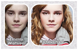 retouch emma watson by Magiagrafica