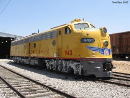 Union Pacific E unit 942 3 by decophoto32