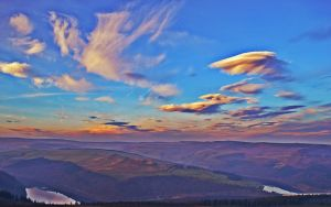 winhill sunset by Duckmad