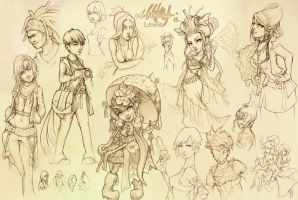 Sketch page - Beta by Ice-brand