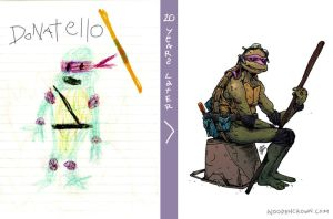 20 Years Later: DONATELLO by TheWoodenKing