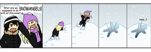 DC: Snow Sneak Attack by SubduedMoon