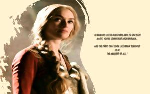 Cersei Lannister by GreenRaven28