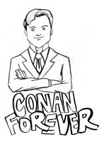 Conan Forever by DeviantBoss