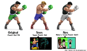 Little Mac alternate costumes for new Smash? by Daeron-Red-Fire