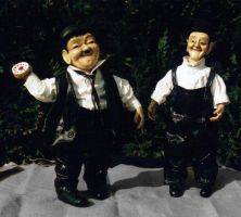 Laurel and Hardy by Gniffies