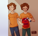 The Stoll Brothers by missmady