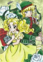 Candy and prince of hill by chikorita85