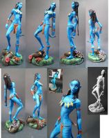 Neytiri_from_AVATAR_ministatue by skinnydevil