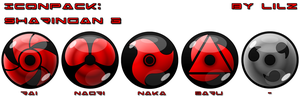 IconPack: Sharingan3 by lilomat