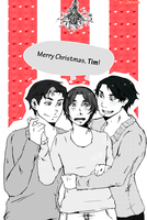 Merry Christmas, Tim! by larynth