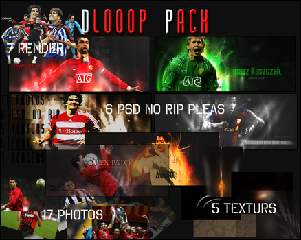 DLOOOP PACK  MY FIRST by del-pe-10