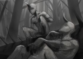 Remnants - forest chat by Sythgara