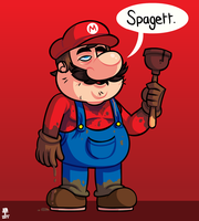 Mario? by Wazzaldorp