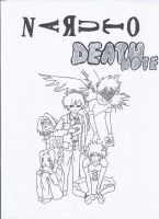 Naruto and Death Note Crossover by cathy416