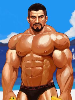 Gabe in Ilios by iBlokes