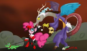 Bad Influence Chaotic Love by ScarletFire666