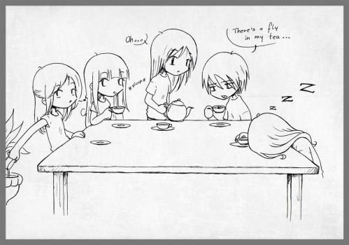Tea Party by AngelNess