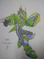 Megaman Starforce Dragon by triggerchrono