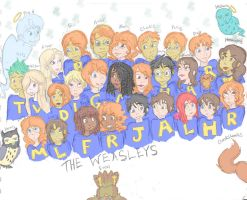 Many Weasleys and Some Potters by StillDreamstuff