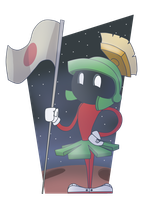 Marvin The Martian by SrPelo