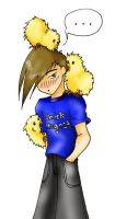 Trowa is a Chick Magnet by angel-maxwell
